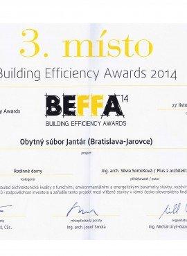 BEFFA - súťaž architektov, 3. miesto