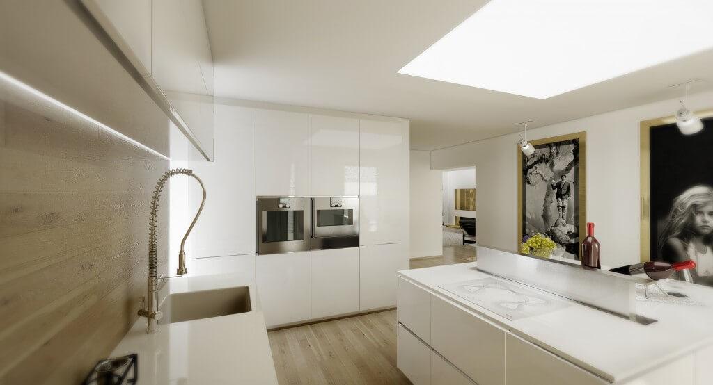 interiérový architekt - kuchyňa