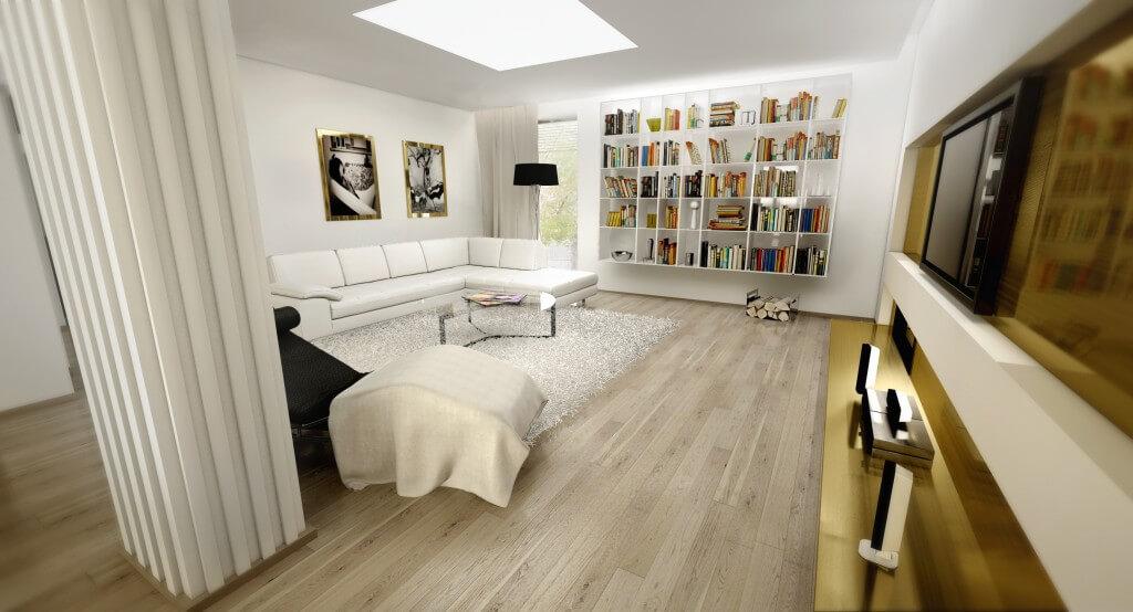 interiérové štúdio - obývačka