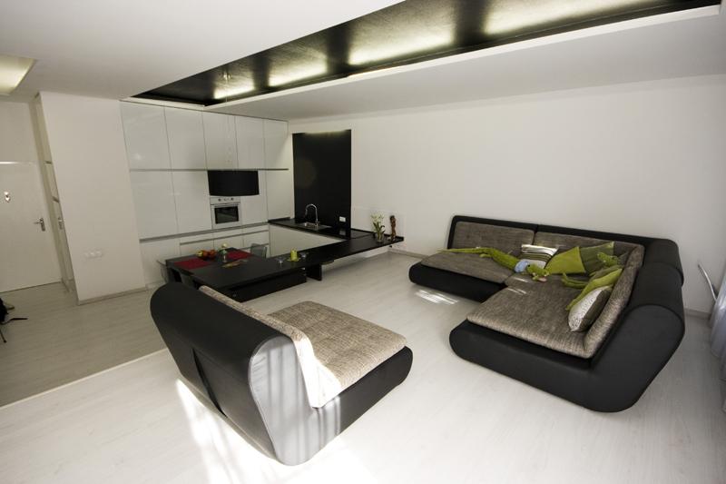 architekti - obývačka