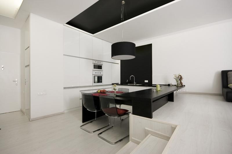 architektonické štúdio - jedáleň