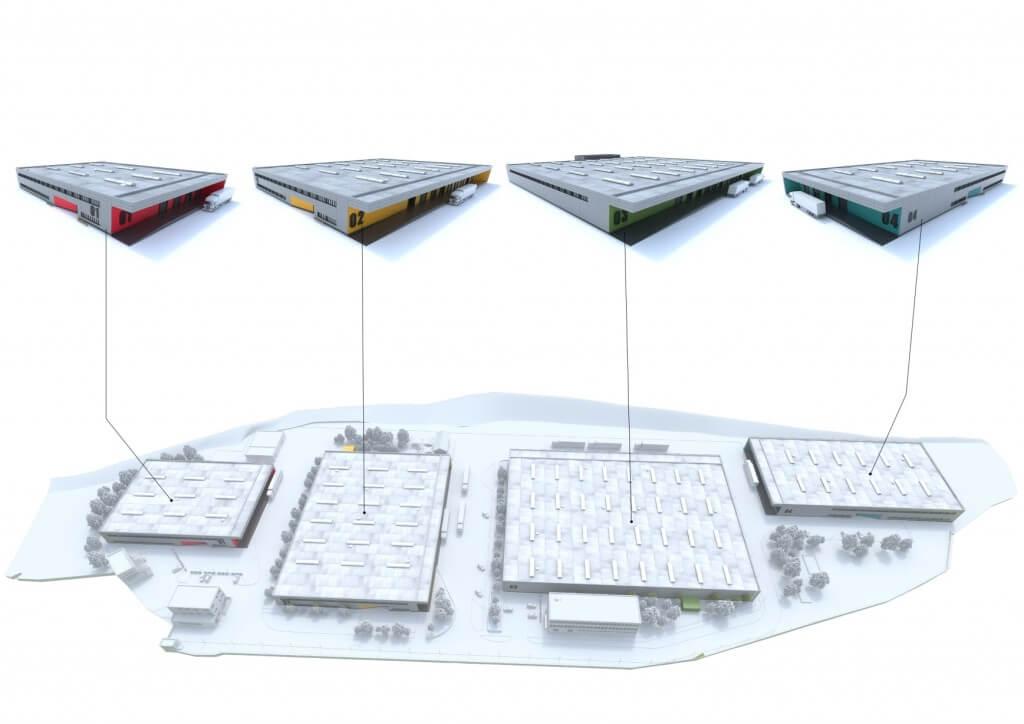 Projekt - Priemyselný park