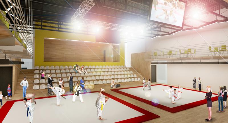 športové centrum - Ovsište
