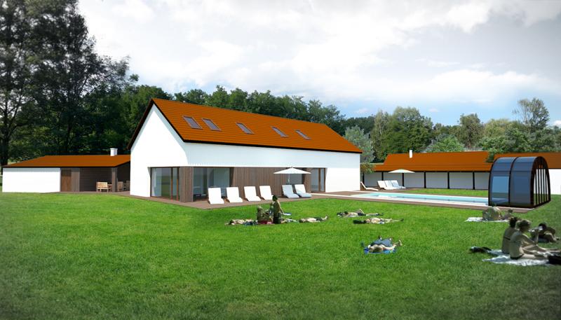 architektúra domu - Ciglad