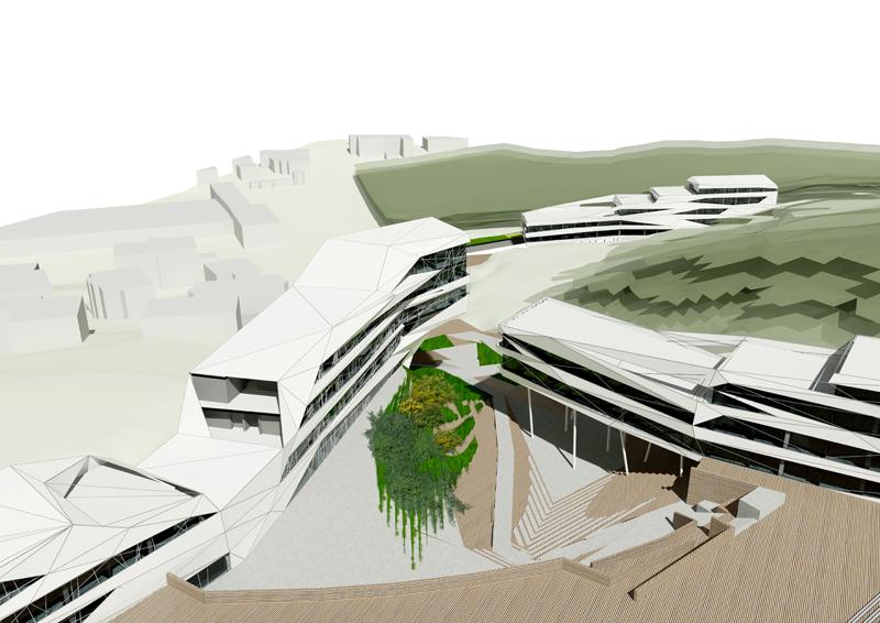 architekti Bratislava - amfiteáter bratislava