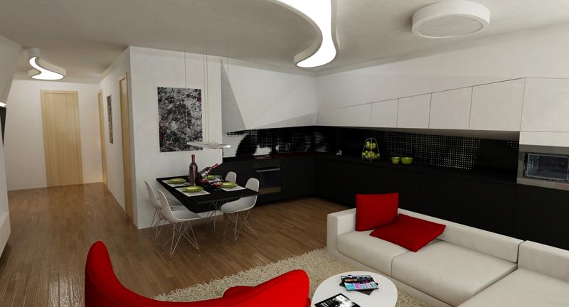 architekti - jedáleň
