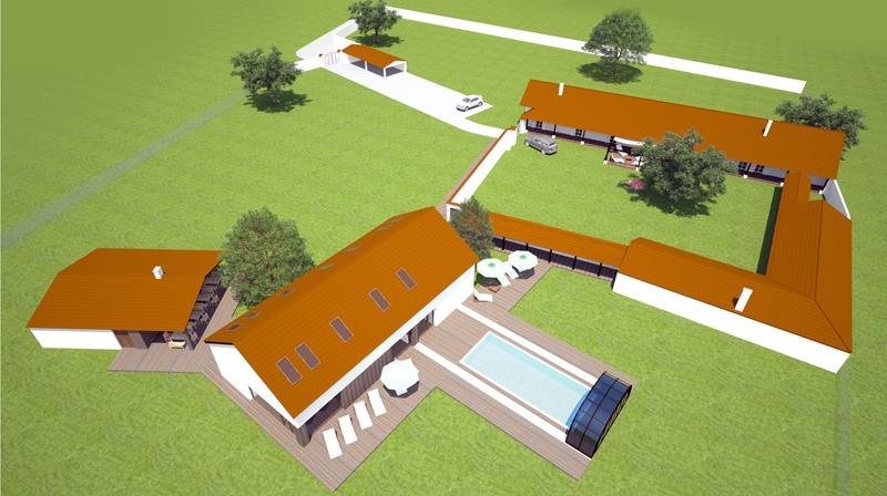 navrh rodinného domu - Ciglad