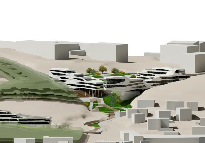 architektonické stúdio - amfiteáter bratislava