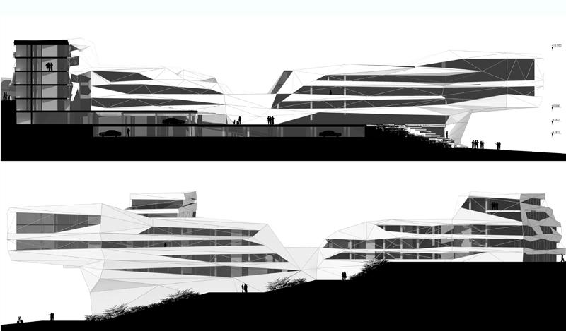 3D návrh - amfiteáter bratislava