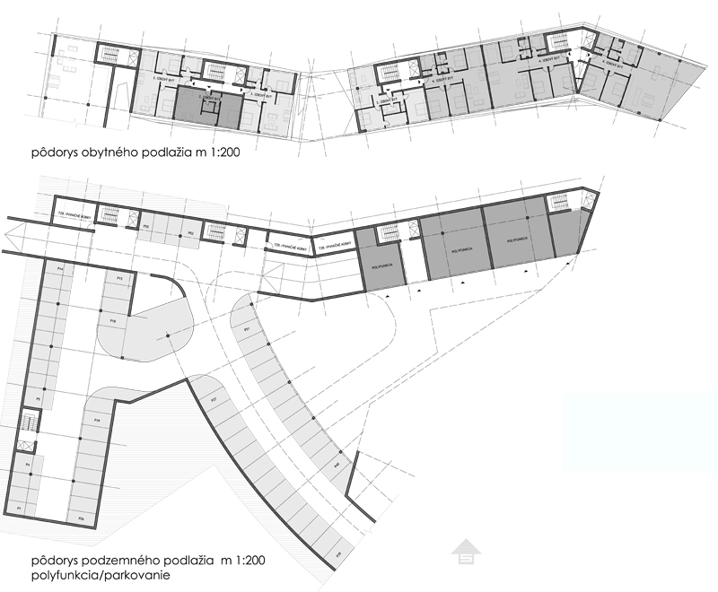návrh pôdorysu online - amfiteáter bratislava