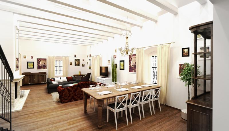 interiérový architekt - Ciglád