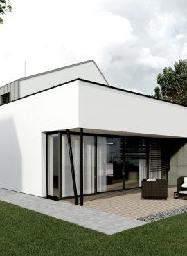 Projekt rodinného domu na mieru - návrh