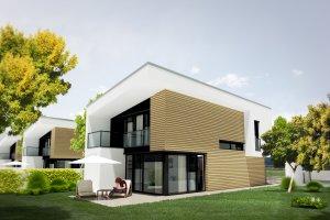 Vizualizácia rodinného domu - 3d projekt domu