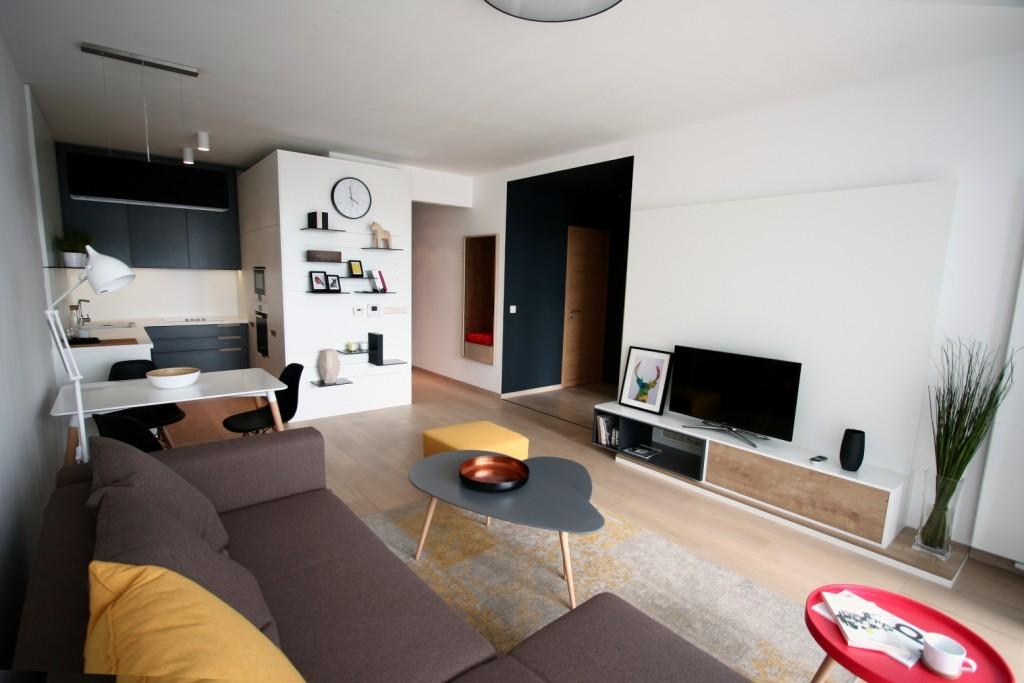 Bytový architekt - návrhy kuchyne s obývačkou