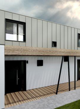 Moderné fasády rodinných domov