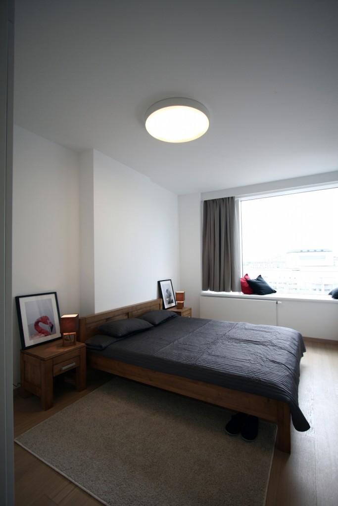 Interiérový dizajn bytov - spálňa