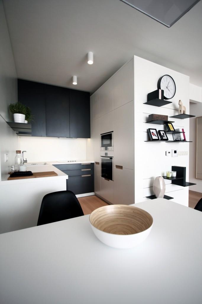 Interiérový dizajn kuchyne - v byte