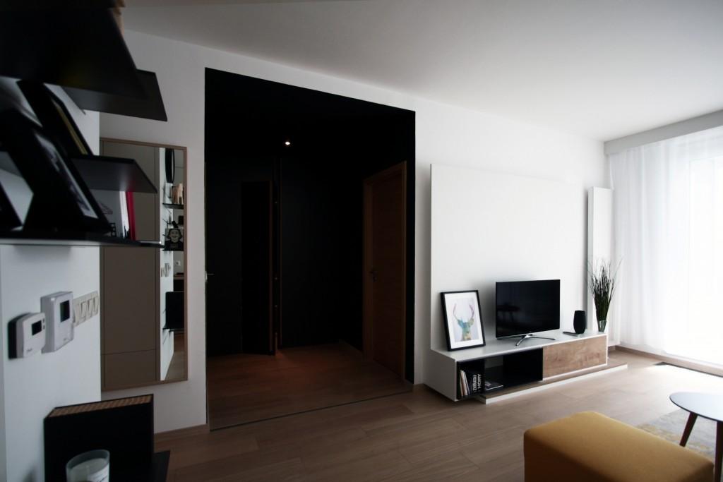 Interiérový dizajn obývačky - bytový architekt
