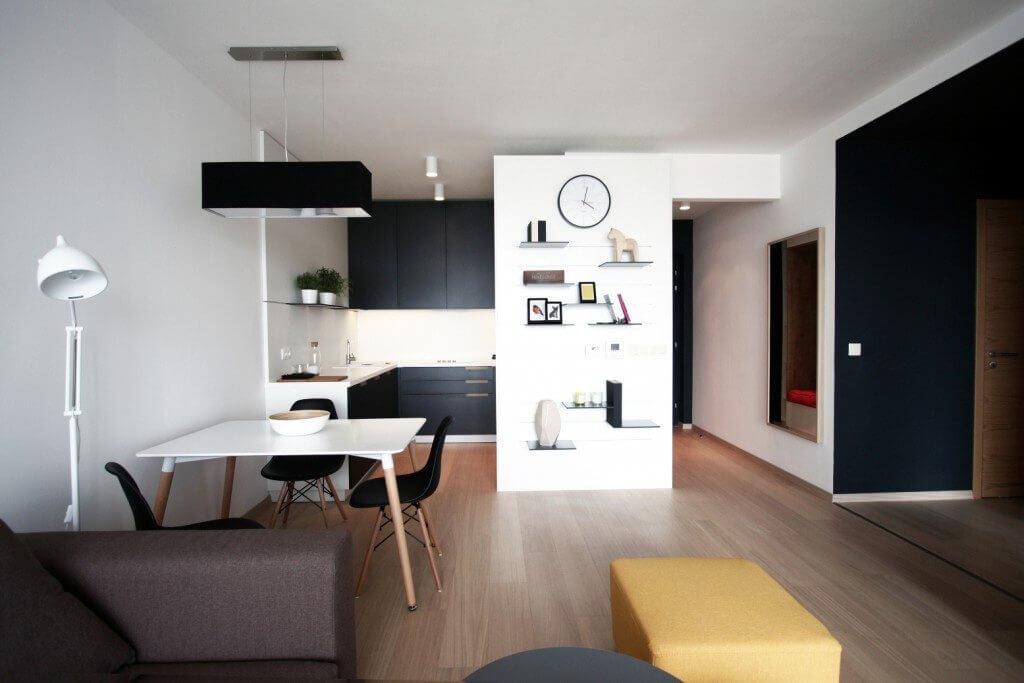Návrhy kuchyne s obývačkou