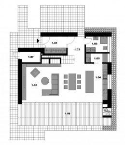 Pôdorys - návrh domu