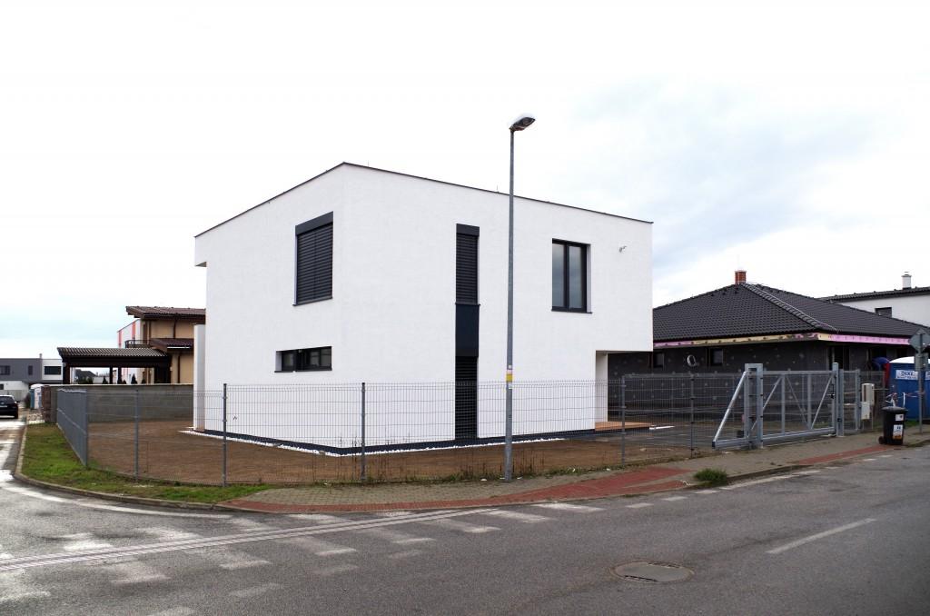 Dom s rovnou strechou - projekt, pôdorys