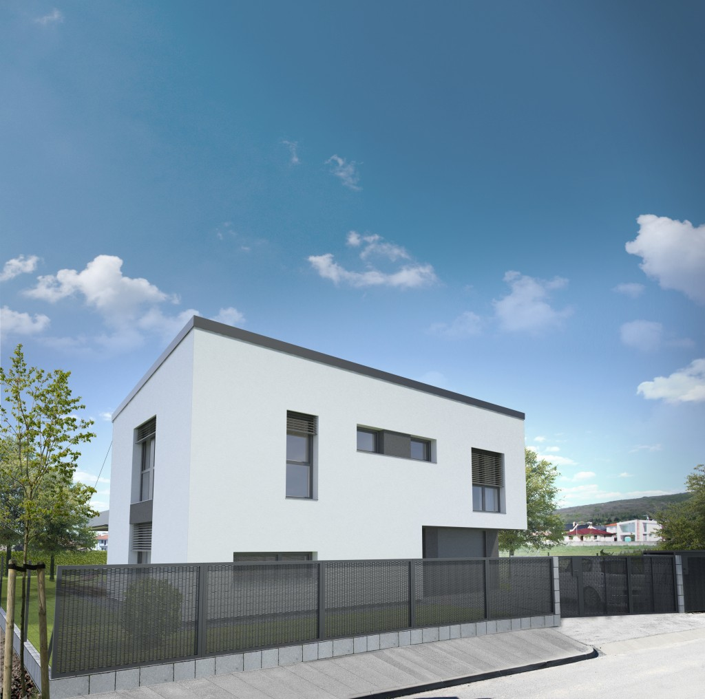 Dom s garážou - architektura
