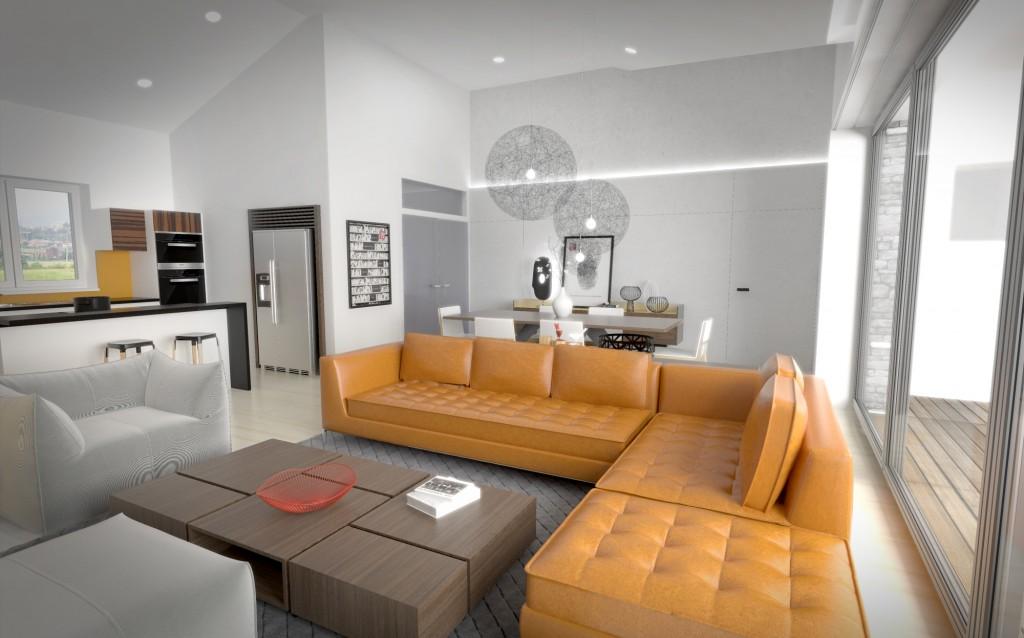 Interiér rodinného domu - od architekta