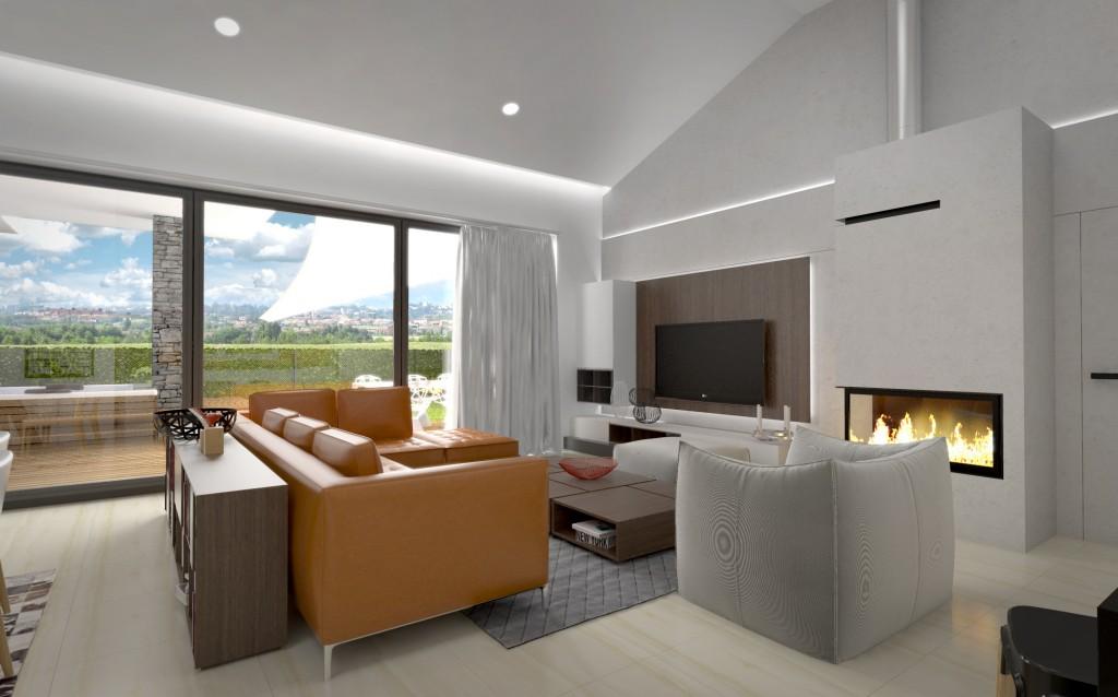 interiérový architekt - moderný interiér domu