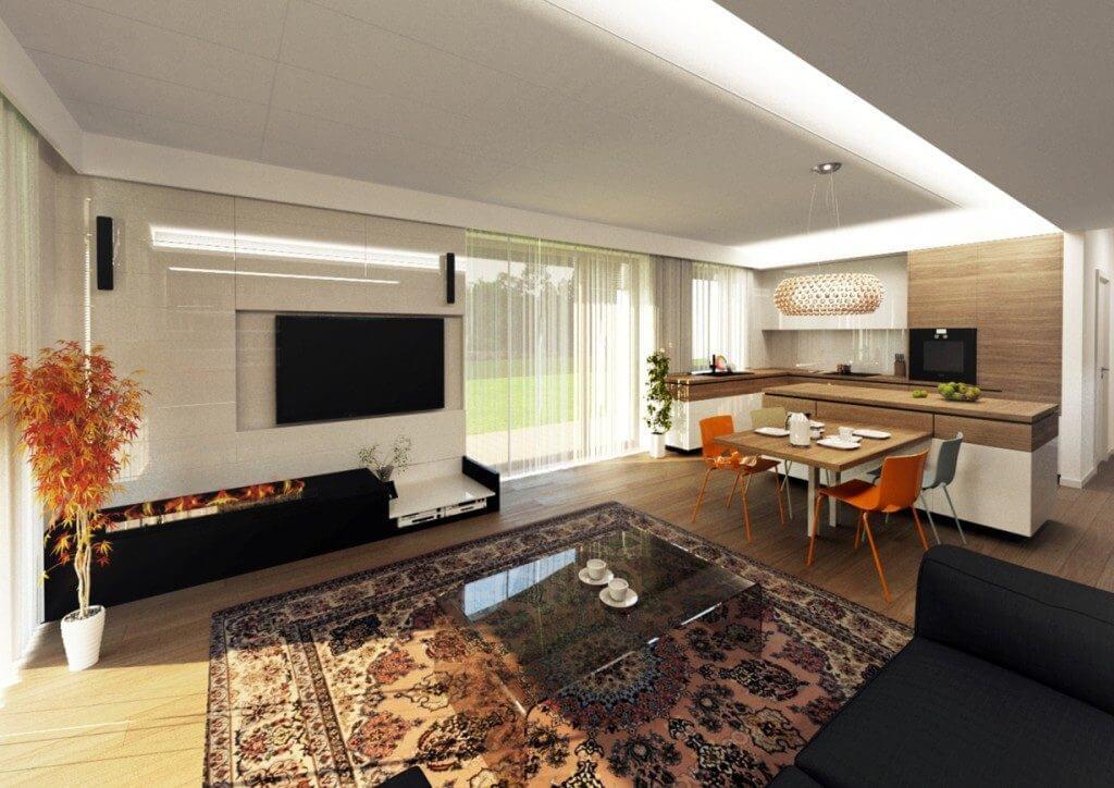 Interiérový dizajn - domu