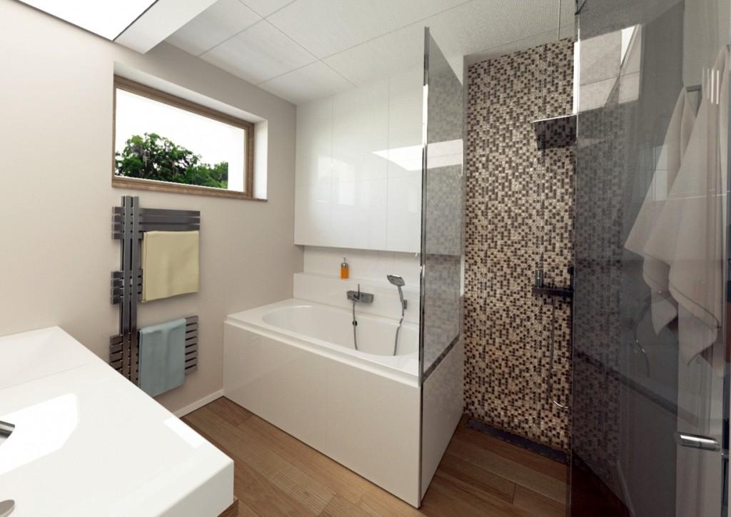 Interiérový dizajn - moderná kúpelňa
