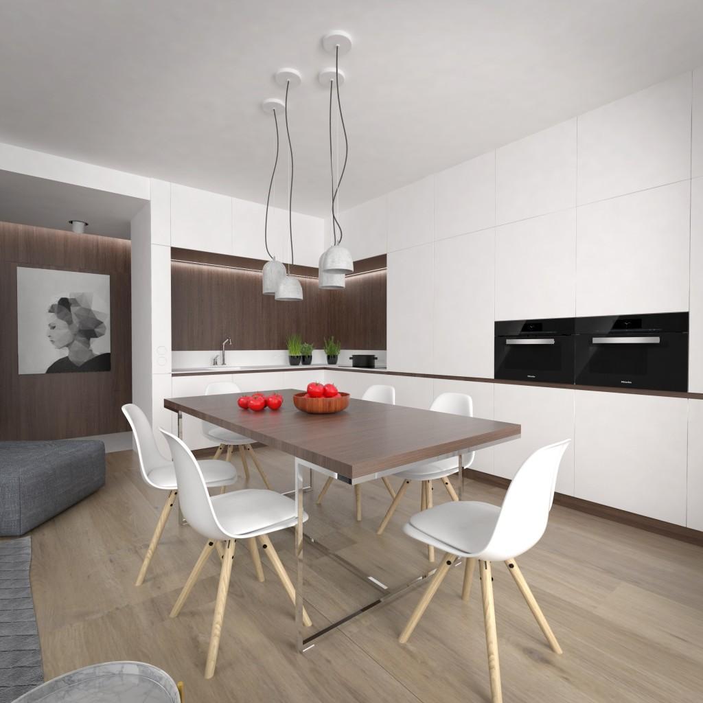 Interierový dizajn - návrh kuchyne