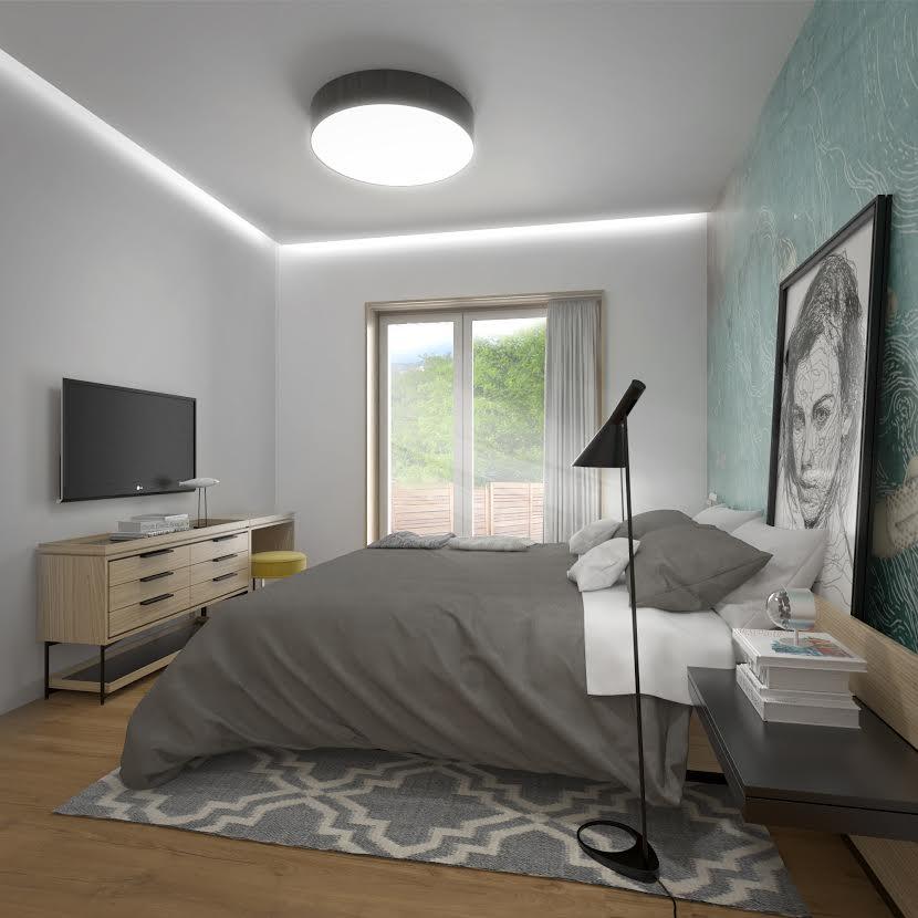 Interiérový dizajn - spálňa