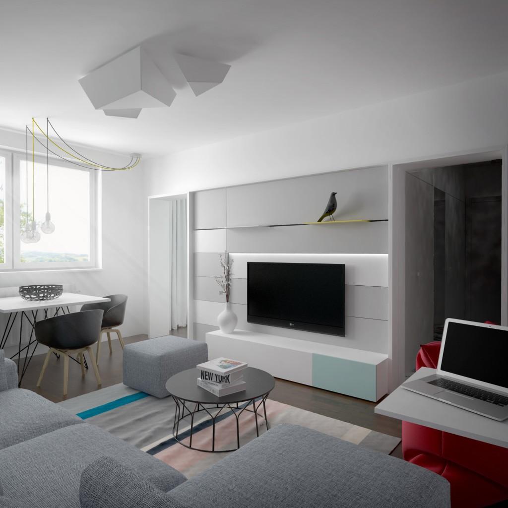 Kombinácia farieb do obývačky