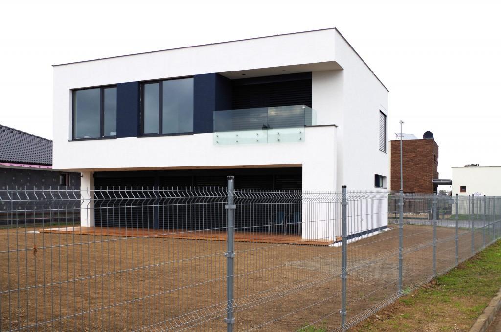 Moderný dom - projekt