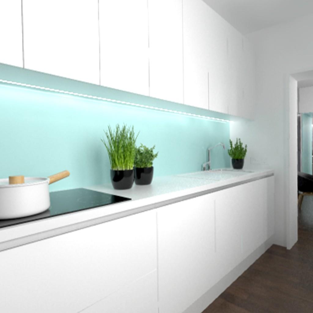 Nábytok na mieru - návrh kuchyne