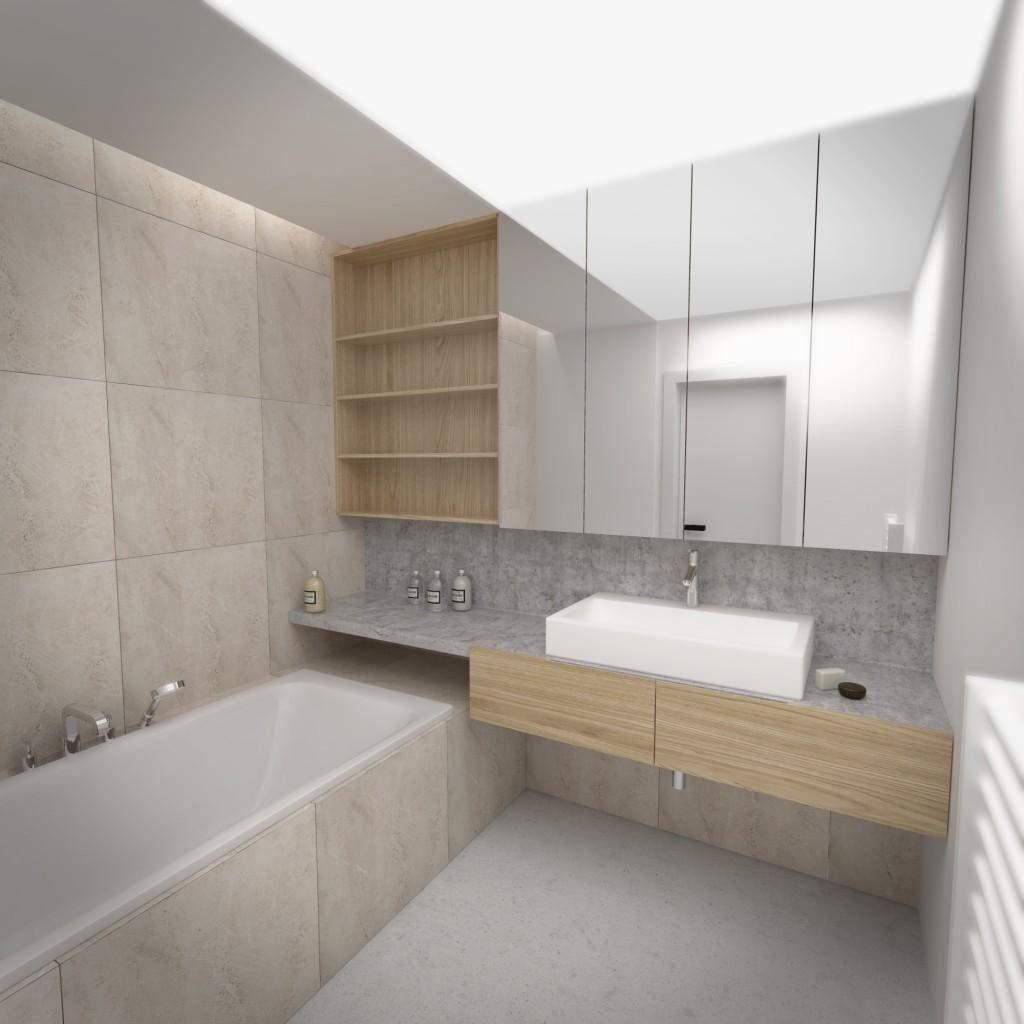 Návrh kúpelne - interiérový architekt