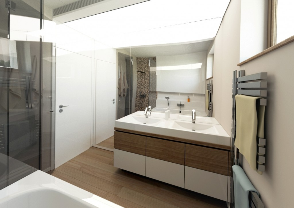 Návrh kúpelne - architekt