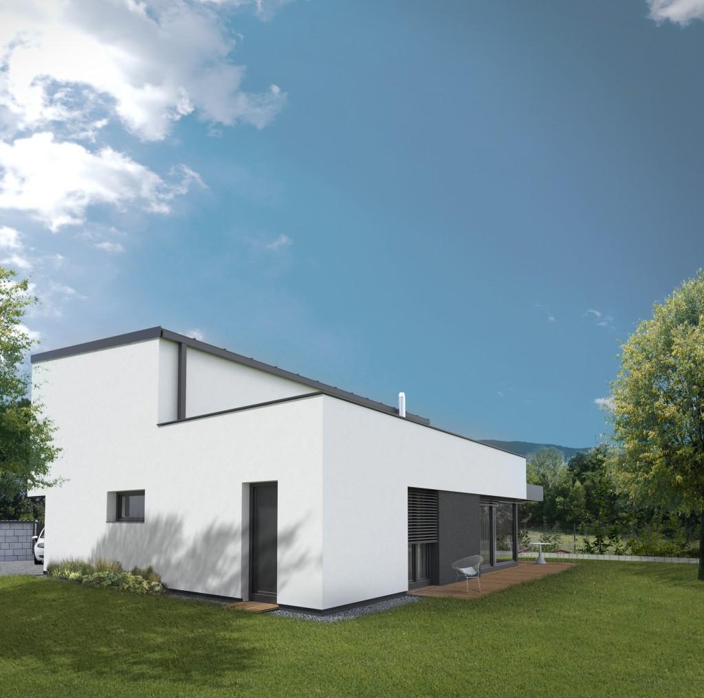 Poschodový dom projekt - Moderná architektura