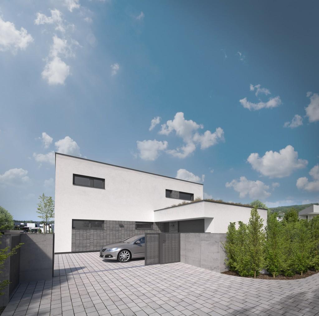 Poschodový dom s garážou