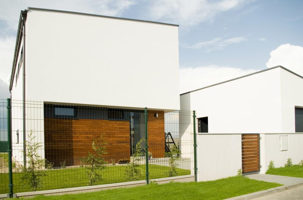 Projekt rodinného domu - drevený obklad fasády