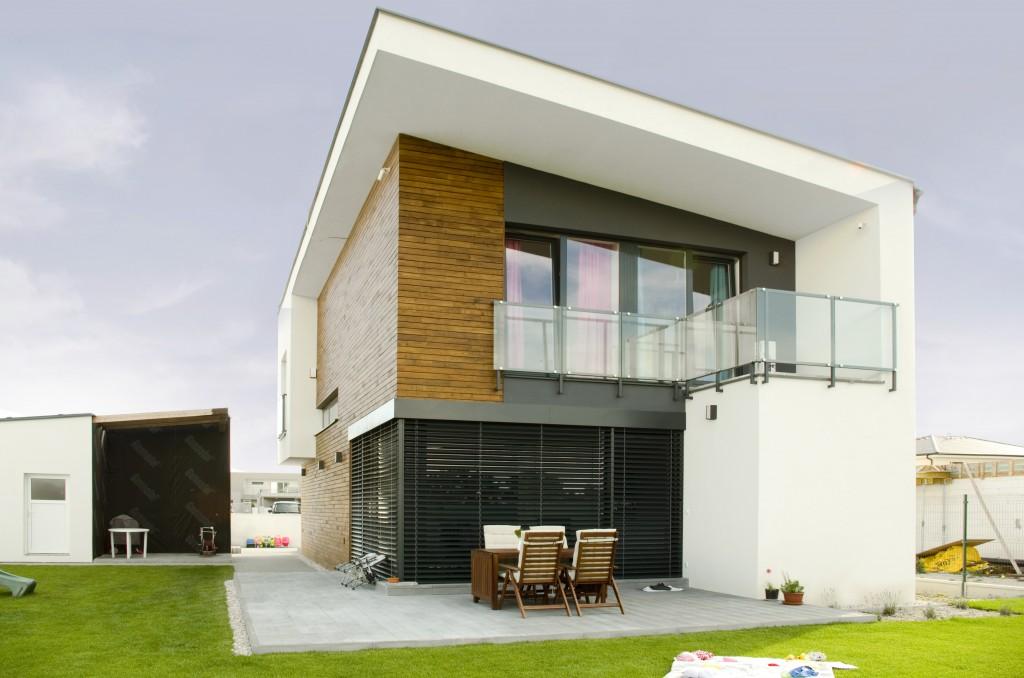 Rodinný dom - s pultovou strechou