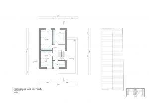 Dom projekt - sedlová strecha