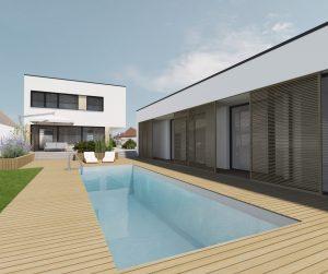 Vizualizácia domu - architektonické štúdio