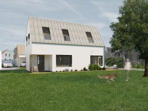 Architektonické štúdio Bratislava - vizualizácia domu