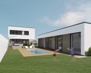 Dom s rovnou strechou