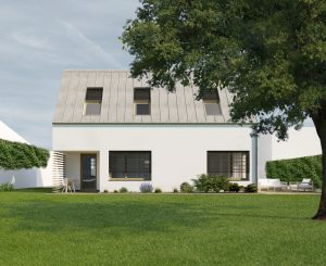 Vizualizácia domu