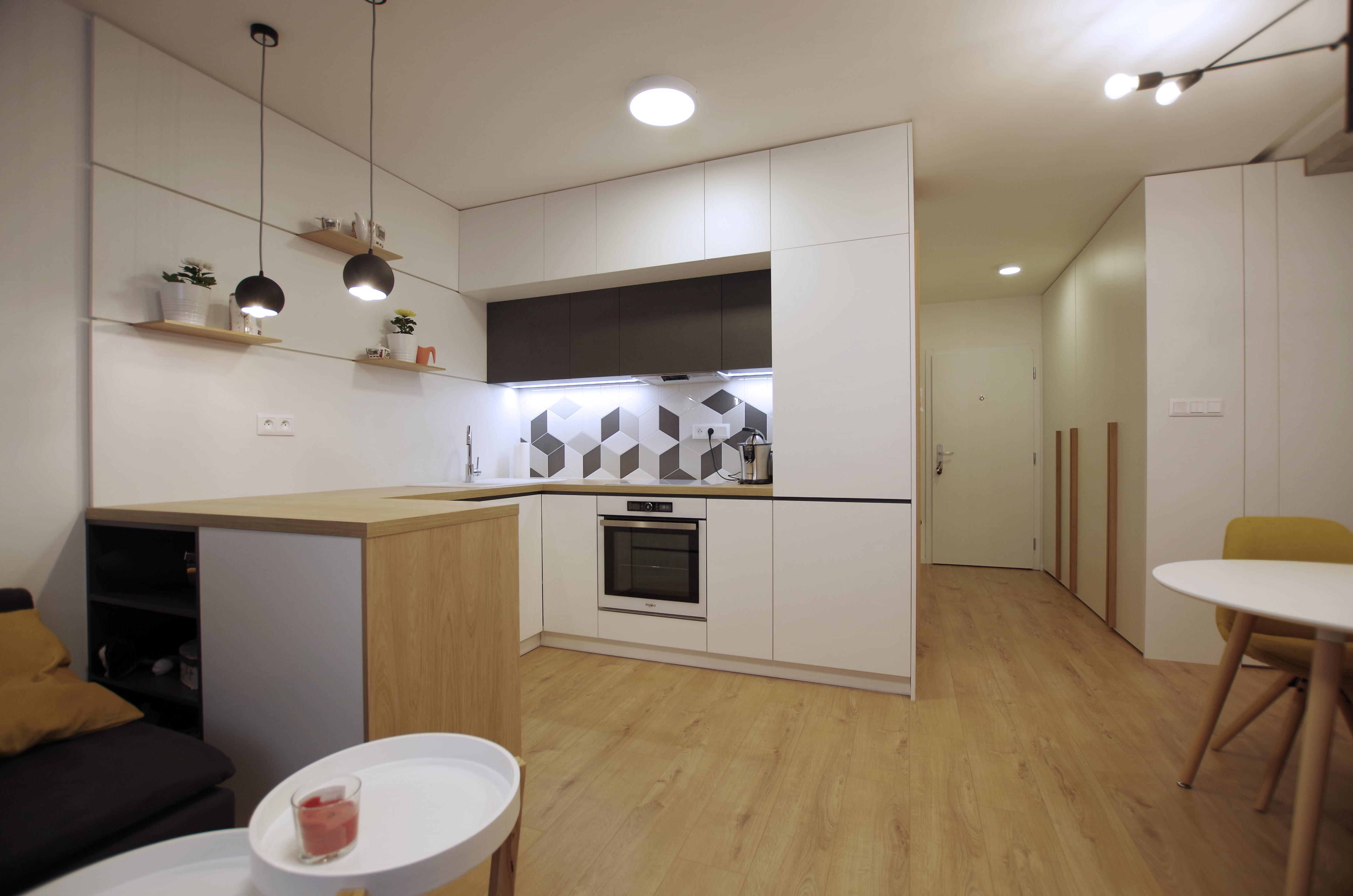 Prerábka bytu inšpirácie - kuchyňa