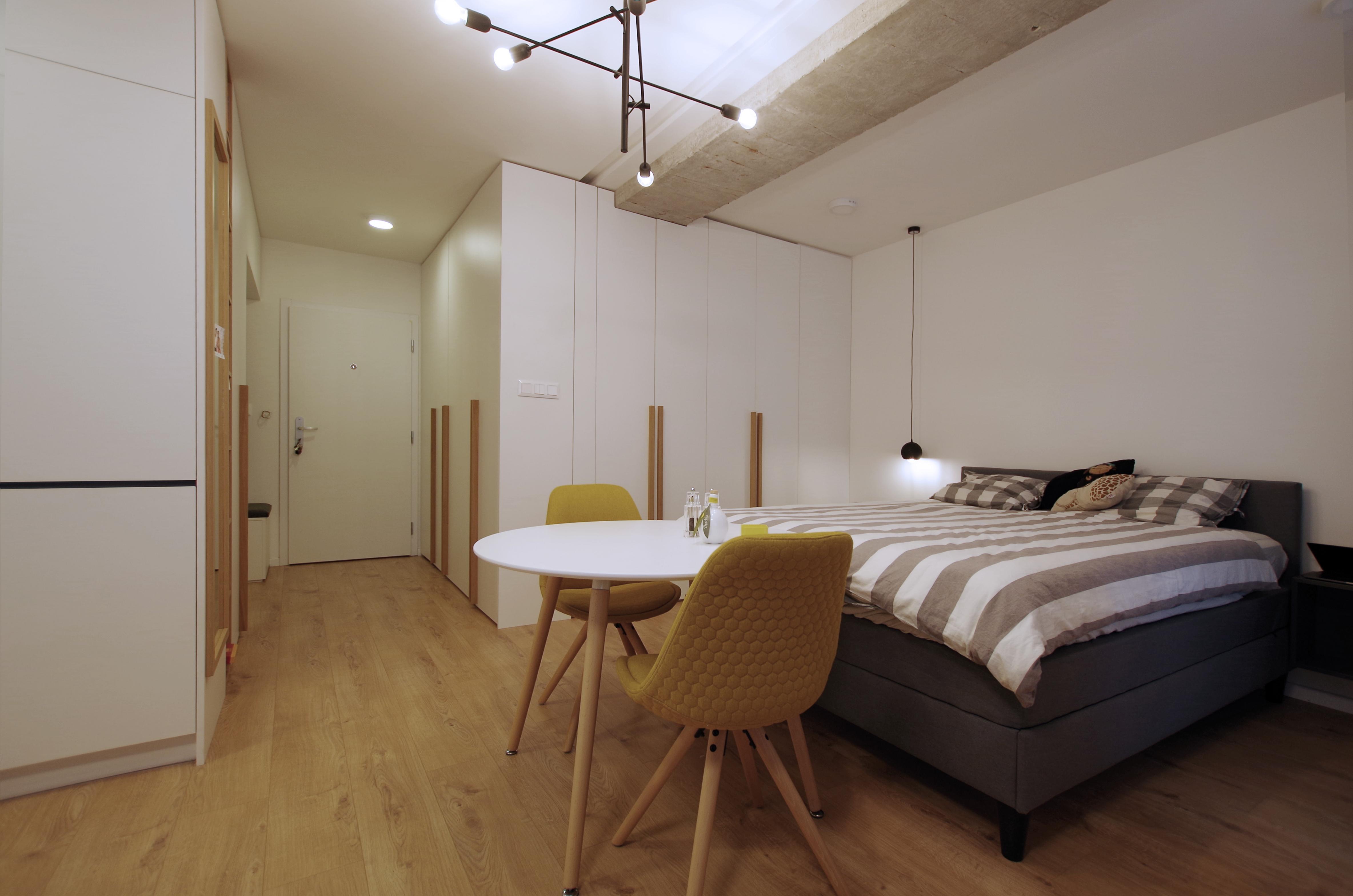 prerabka bytu inspiracie spálňa male byty dizajn