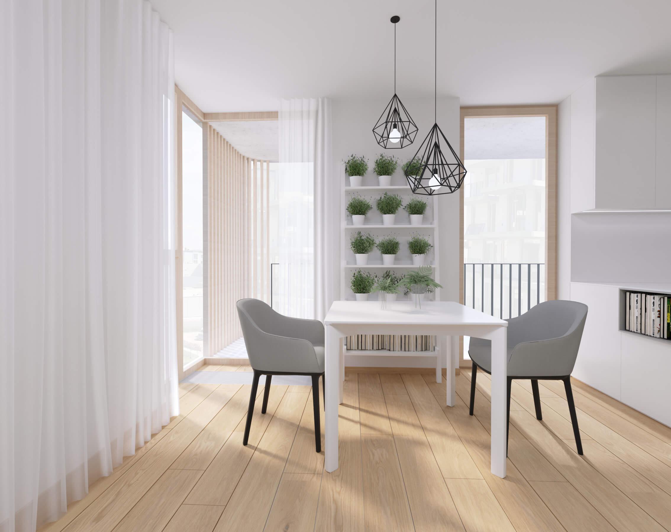 moderné zariadenie bytu obývačka