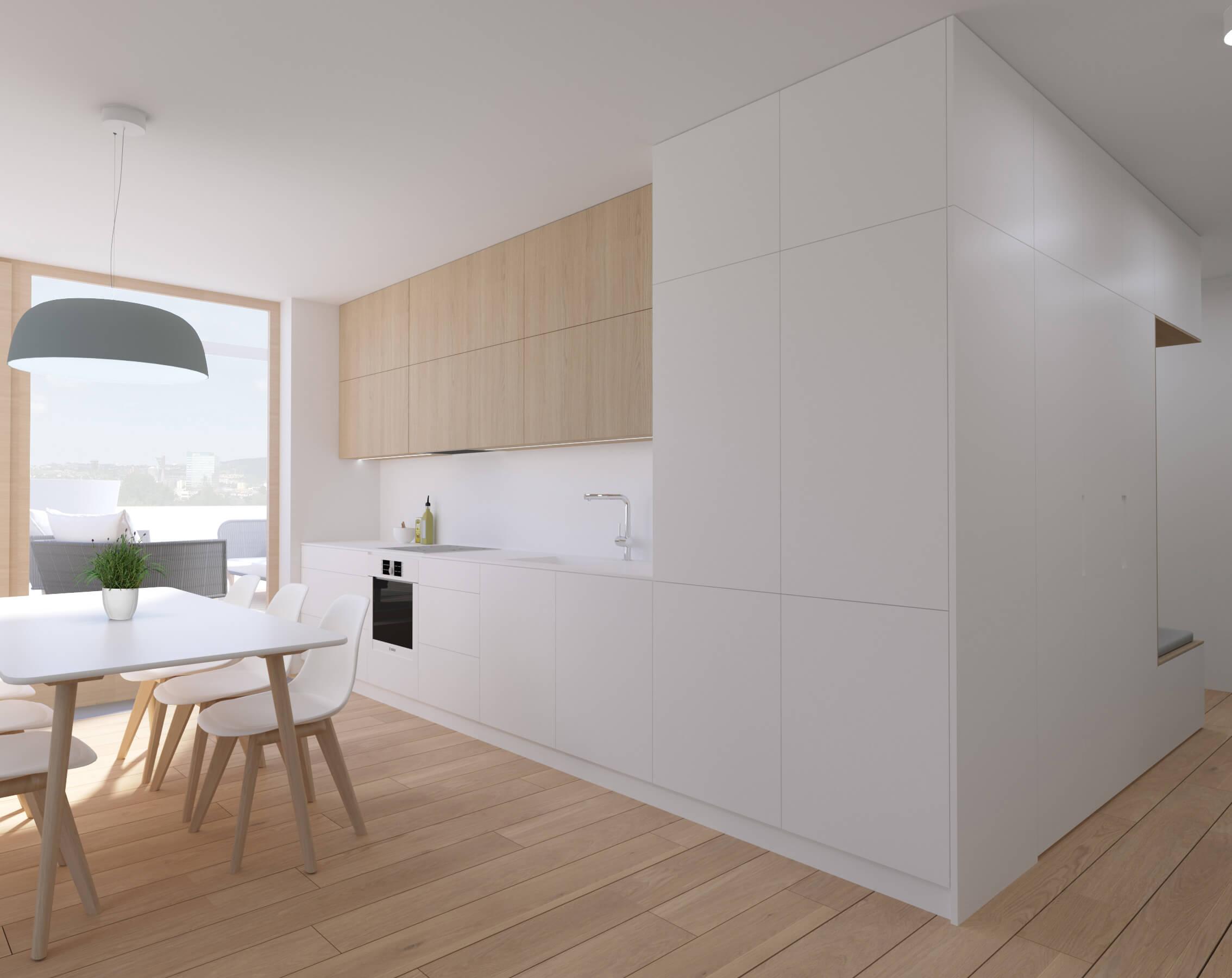 interierovy dizajn kuchyne - bratislava, byty Nido